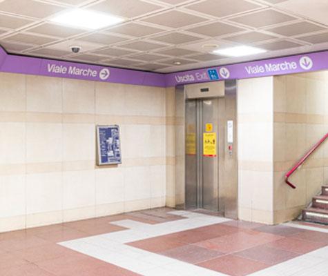 MARCHE-ascensore
