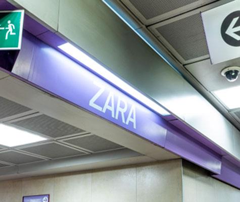 ZARA-fermata